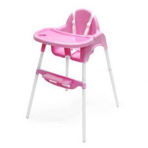 כיסא אוכל בק 2 בייסיקס – טוויגי Twigy – ורוד