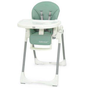כסא אוכל גבוה דלישס – ™ Delicious / טוויגי Twigy – ירוק
