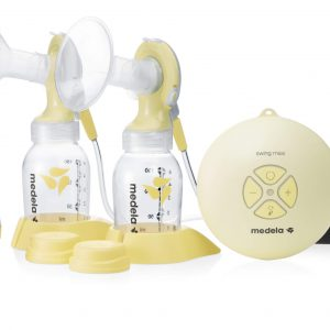 סווינג מקסי- משאבת חלב חשמלית כפולה – מדלה