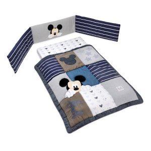 סט קומפלט למיטת תינוק מיקי שנות ה 90