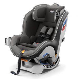 כיסא בטיחות נקסטפיט זיפ – NextFit Zip צ'יקו Chicco – שחור אפור
