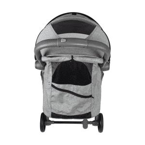 טיולון קומפקטי לתינוק עם קיפול אוטומטי KATY -מבית BabySafe –  אפור