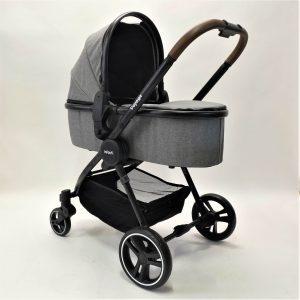 עגלה משולבת עם סל שכיבה דגם וויאג' VOYAGE מבית אינפנטי INFANTI
