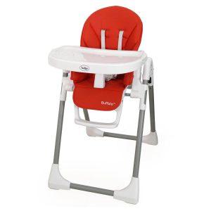 כסא אוכל גבוה באפלו – ™Buffalo טוויגי Twigy – אדום