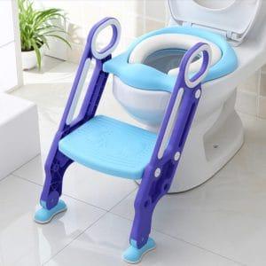 מושב אימון מרופד לתינוק עם מדרגה – מיה