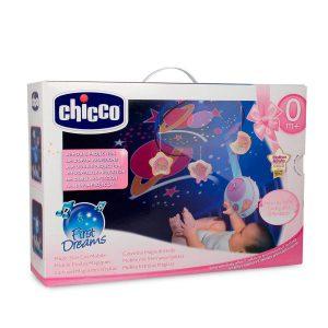 מובייל מאיר לתקרה כוכבים קסומים – Magic Stars Cot Mobile צ'יקו Chicco – ורוד