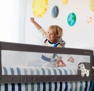מגן מיטה מתקפל גבוה- בייבי מישל