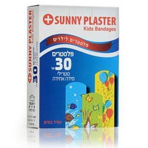 30 יחידות פלסטרים צבעונים