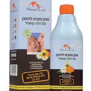 """מאמי קר – שמן אמבט לתינוק קלנדולה קמומיל 400 מ""""ל"""