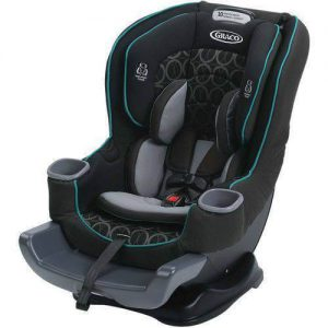 "כיסא בטיחות גרקו EXTEND2FIT GRACO שחור VALOR מלידה עד 29 ק""ג"