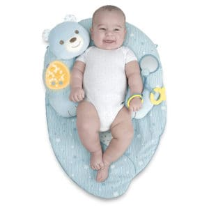 כרית פעילות מנגנת 3 ב-1 – Toy FD My First Nest – צ'יקו Chicco – תכלת