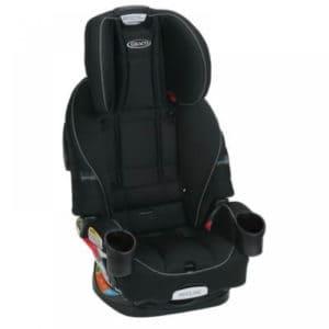 כסא בטיחות גרקו GRACO פוראוור טרושילד 4EVER TRUESHIELD שחור 4 ב-1