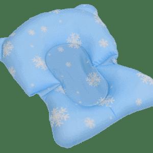 צף בטוח נצמד לאמבטיה – תכלת עם שלג