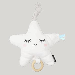 צעצוע מנגן – מיננה – לבן
