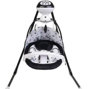 נדנדה חשמלית מפוארת סטאר שחור לבן – SPORT LINE