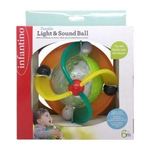 כדור אורות וצלילים – infantino