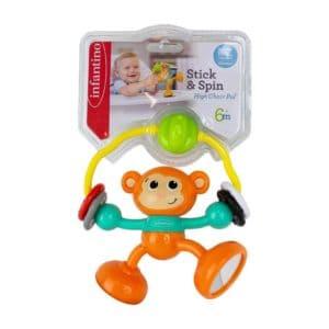 משחק קוף לכסא אוכל -infantino