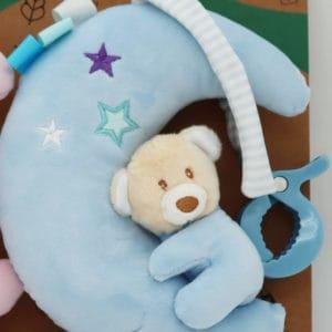 צעצוע מנגן ירח – כחול