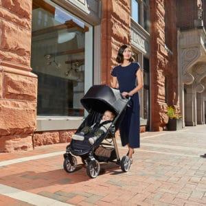 עגלת סיטי מיני 2 – 4 גלגלים – City Mini® 2 4W – בייבי ג'וגר Baby Jogger – אפור
