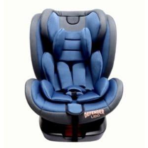 כיסא בטיחות LIDO ISOFIX מבית DEFENDER צבע כחול