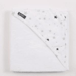מגבת במבוק עם כובע  אפור כוכבים – מיננה