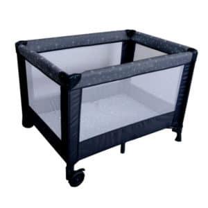 לול קמפינג SIMPLY לתינוק עם כילה מבית בייבי סייף BabySafe – שחור