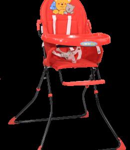 כיסא אוכל LET'S SEAT – אדום