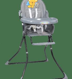 כיסא אוכל LET'S SEAT – אפור