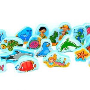 משחקי מים ושלוחן – עולם הים