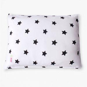 ציפית לכרית תינוק – שחור כוכבים – מיננה