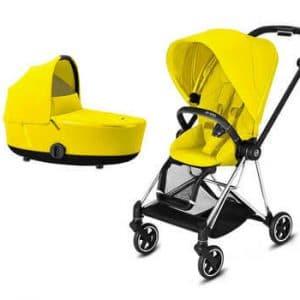 עגלת תינוק משולבת Mios 2 / Cybex  צהוב