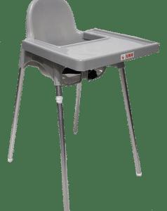 כיסא אוכל דגם אונו UNO – אפור