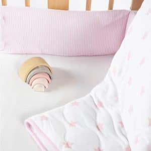 סט מצעים לעריסת תינוק –  מיננה
