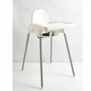 כיסא אוכל דגם אונו UNO – לבן