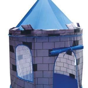 אוהל טירה כחול + 65 כדורים