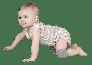 מגן ברכיים לזחילה לתינוק