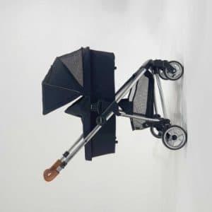 עגלה משולבת + סלקל דגם VENICE מבית iCON צבע שחור