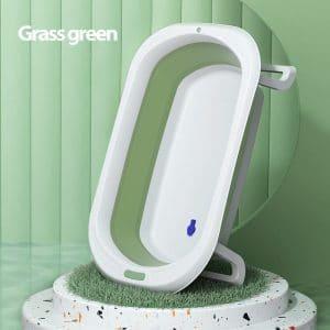 אמבטיית סיליקון מתקפלת – נרקיס – ירוק