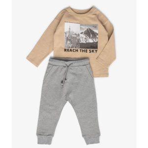 סט חולצה ומכנסיים – מיננה