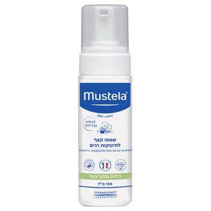 """שמפו קצף 150 מ""""ל – מוסטלה mustela"""