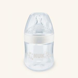 בקבוק לתינוק NUK – 150 ml נוק לבן
